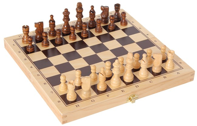 3 games in one - Chess - Checkers - Backgammon