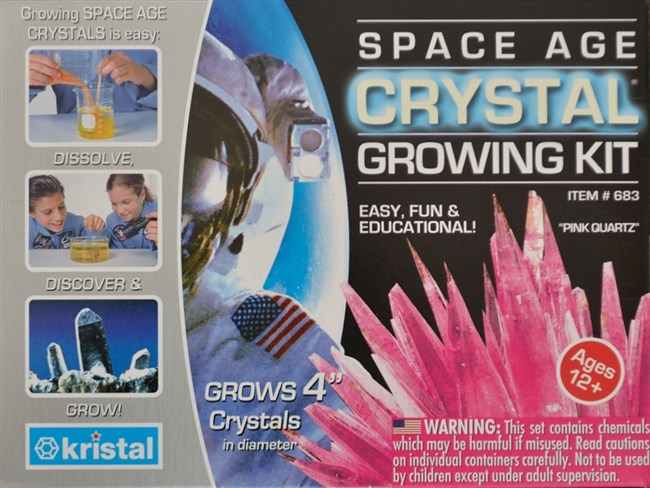 Crystal Growing Kit Pink Quartz