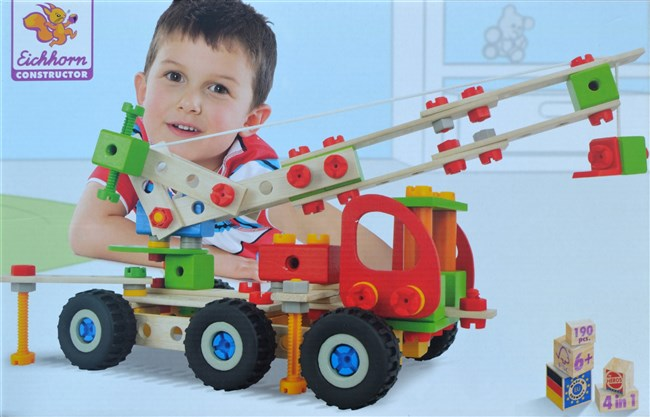Heros 39039 kits in wood - Fire Engine / 7 models