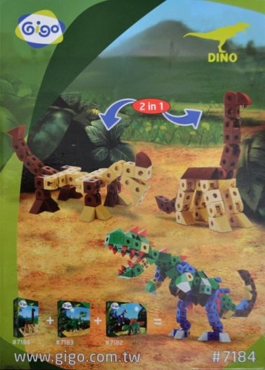 Gigo 7184 Build a long-necked dinosaur