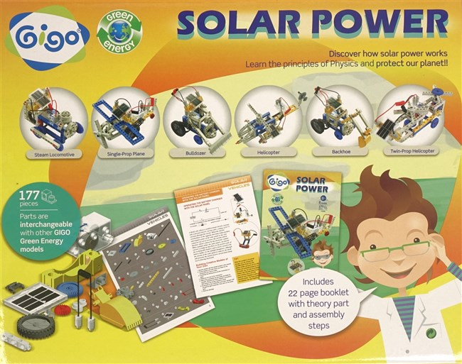 Gigo 7349 Vehicles on solar energy