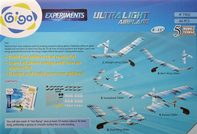Gigo 7402 construction kit - Ultra light gliders
