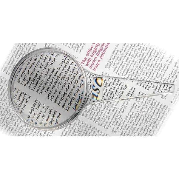 Magnifying glass - 3x, 5x, 80mm