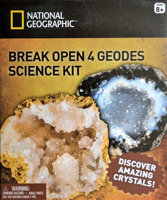 NGGEO4 - Break and open four genuine geodes