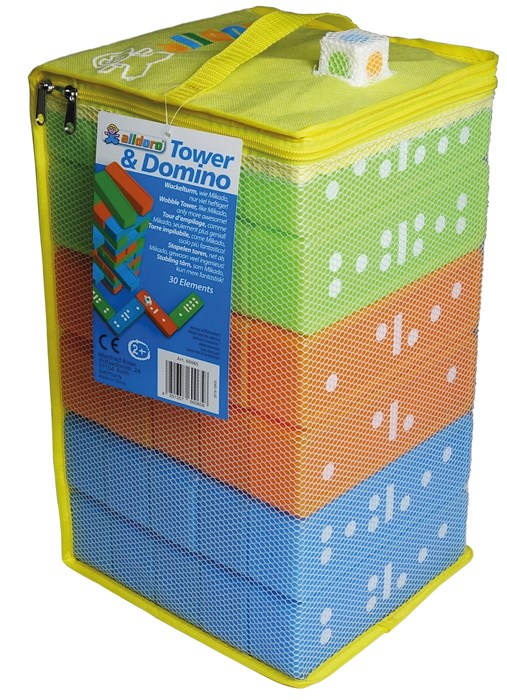 Outdoor topple tower and Domino - XXL size