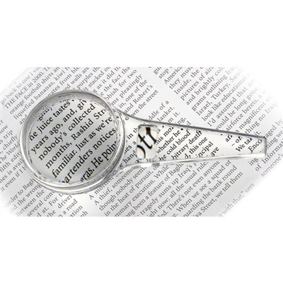 2 in one magnifier glass - 3x, 8x, 40mm
