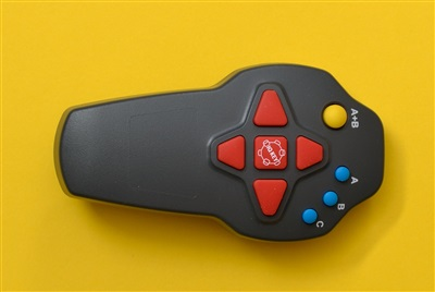 Handheld remote control part