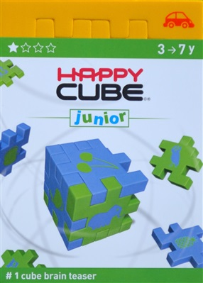 Yellow Happy Cube Junior - Transport