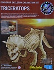Excavate one Triceratops dinosaur