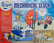 Build mechanical clock, gearbox, cars and lift