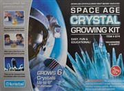 Grow 6 different crystals - quartz and aquamarine crystals