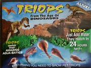 Prehistoric marine animals - replenishing Triops